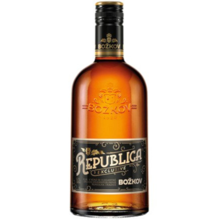 Božkov Rum  Republica Exclusive 38% 0.7l